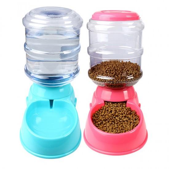 狗狗自動飲水器 寵物貓咪自動餵食器