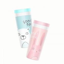 300ML雙層隨身杯 可愛水杯 兒童杯子 學生水壺