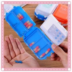 8格隨身藥盒 小物收納盒 首飾盒 一周分藥盒