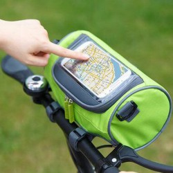 自行車車頭包 車把包 觸屏手機包 單車配件包