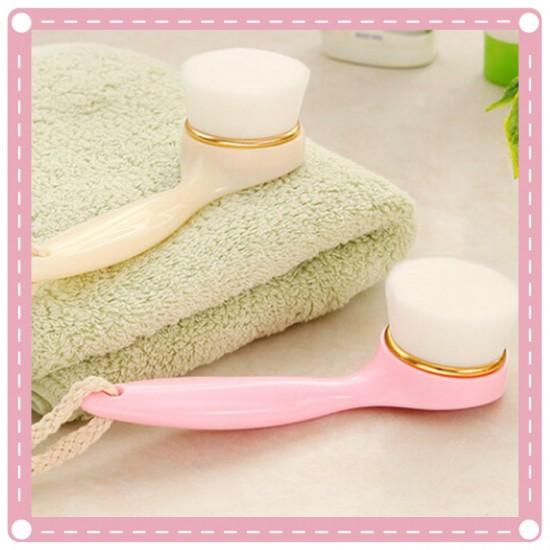 長柄軟毛洗臉神器 微米洗臉刷  清潔毛孔潔面刷
