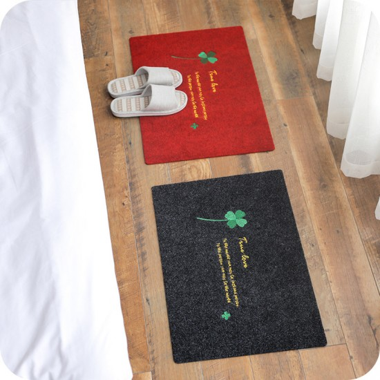 田園風防滑地墊 家用衛浴門墊 廚房腳踏墊 吸水地毯