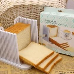 吐司切割器 吐司分片器 烘焙工具 家用麵包切片架