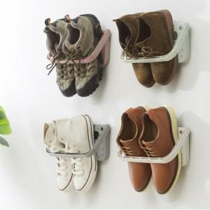 簡易壁掛鞋架 居家生活收納架 收納掛架
