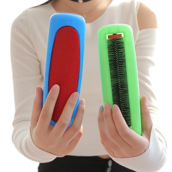 雙面衣物除塵靜電刷 多用途清潔刷 除塵刷