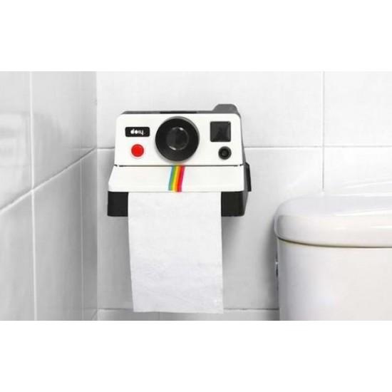 復古相機捲筒面紙盒 廁所必備捲筒紙巾盒 衛生紙收納盒