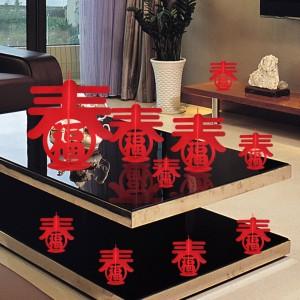 春節春字裝飾 無紡布福字擺飾 客廳餐桌裝飾品 過年立體裝飾