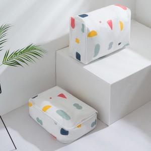小清新棉被收納袋 簡約行李整理袋 防潮衣服收納袋  搬家打包必備
