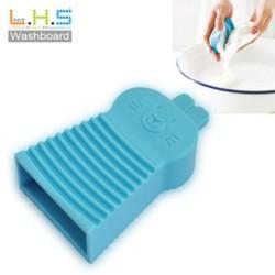 可愛兔子手握式洗衣刷 糖果色矽膠洗衣刷 迷你洗衣板 浴室清潔刷