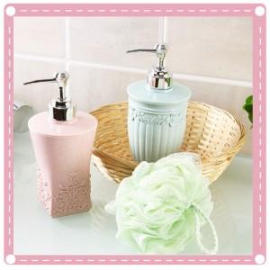 歐式雕花按壓瓶 沐浴瓶 乳液瓶 洗髮乳分裝瓶