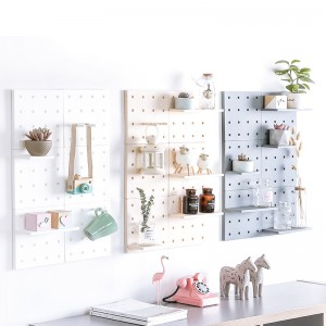 塑膠洞洞板 牆壁裝飾 收納架 牆壁隔板 洞洞置物架