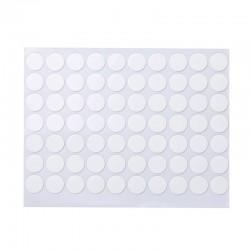 無痕超黏雙面貼70枚入 透明防水圓形貼片 圓點貼