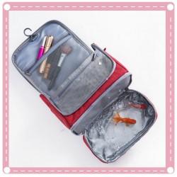 旅行出差必備洗漱包 磨砂防水化妝包