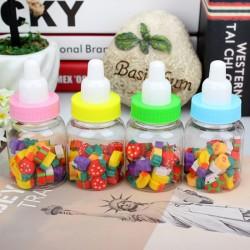 創意可愛奶瓶造型水果橡皮擦 兒童禮物 小學生必備