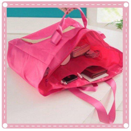出差旅遊必備摺疊旅行收納包 行李拉桿包 旅行包