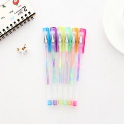 創意100色彩色中性筆組 亮色原子筆
