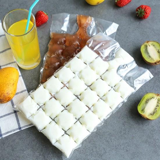 (3組入)創意一次性製冰袋 密封冰塊袋(10片裝)