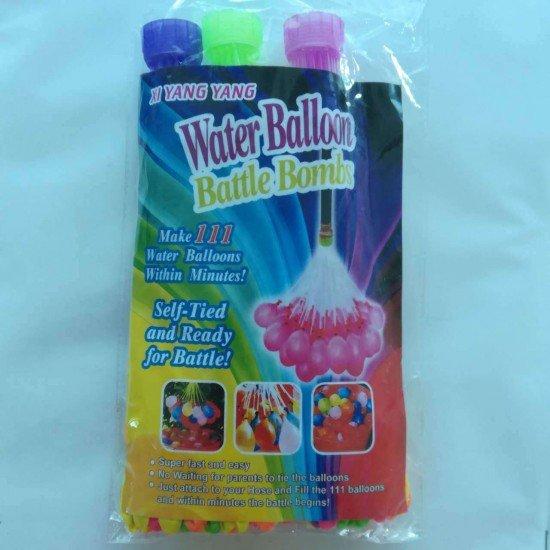 快速裝水球神器 打水仗必備小水球 水球注水器 氣球