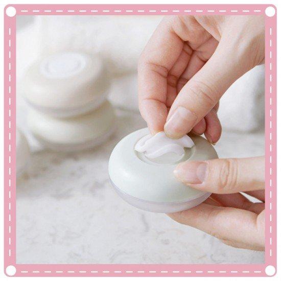 旅行必備按壓分裝瓶 方便攜帶分裝瓶收納盒 洗髮乳 沐浴乳