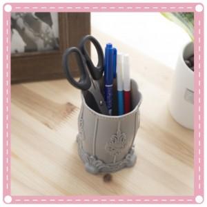 歐式化妝品收納桶 多用途桌面收納筆筒 置物桶