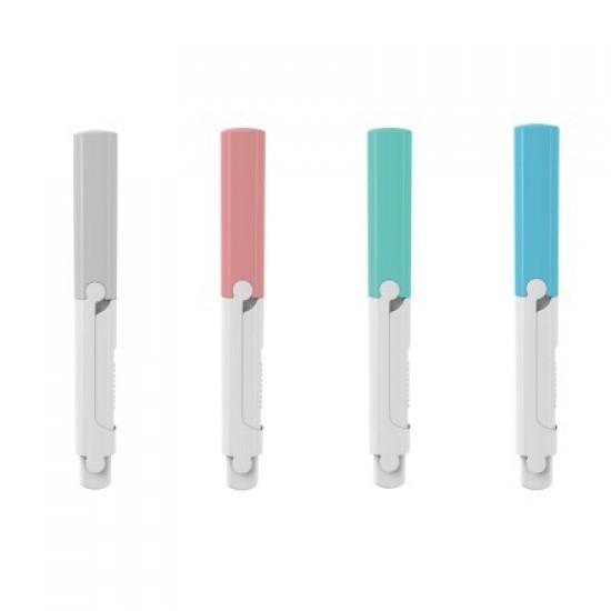 創意隨身摺疊安全剪刀 保護套設計小清新弧形剪刀