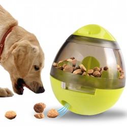寵物不倒翁餵食玩具 可調節食物大小 創意互動狗狗玩具 餵食器