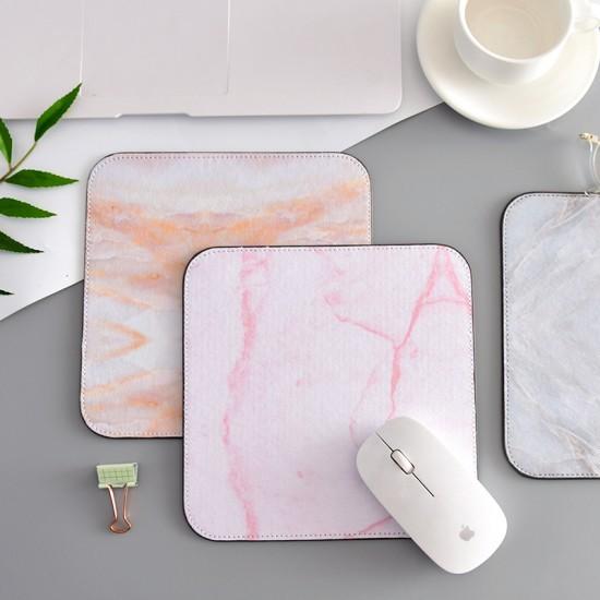 時尚大理石滑鼠墊 創意加厚電腦滑鼠墊 桌墊