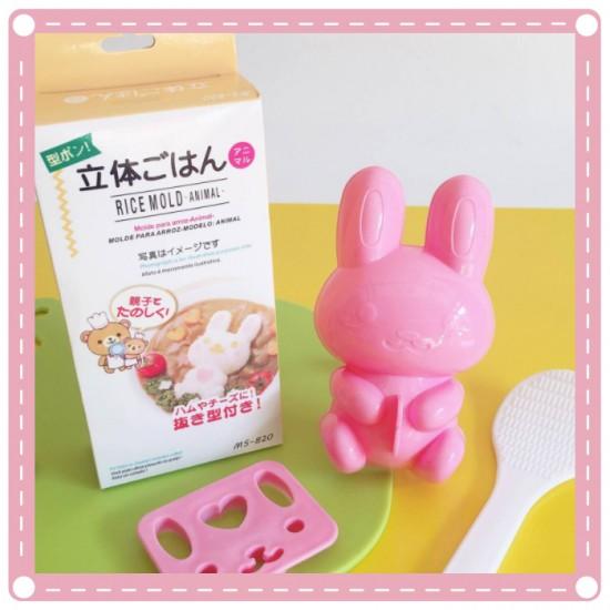 兔子造型飯糰模型組 DIY造型飯糰模 咖哩飯燴飯必備