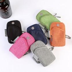 牛津布透氣運動健身臂包 戶外運動手機收納包