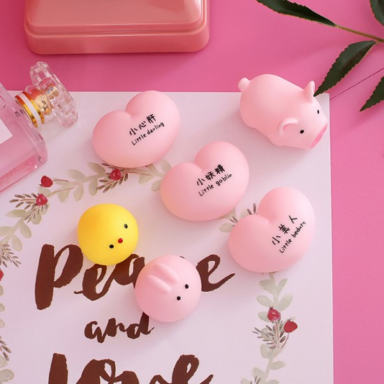 創意萌萌捏捏樂 紓壓小玩具 可愛小動物療癒玩具 小禮物