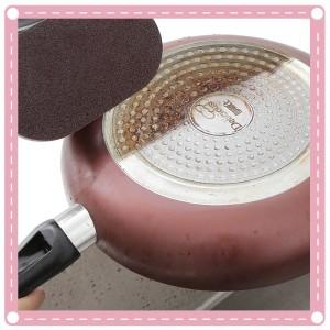 手柄金鋼砂海綿洗鍋刷 廚房去污清潔刷 魔力海綿刷
