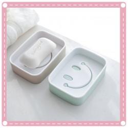 創意浴室必備笑臉香皂盒 微笑肥皂架 瀝水香皂置物架