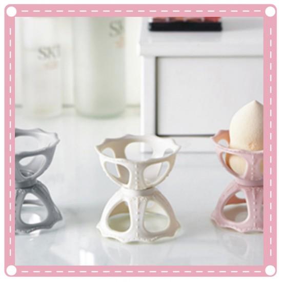 歐式彩妝蛋粉撲收納架 葫蘆粉撲架 美容必備彩妝蛋收納架