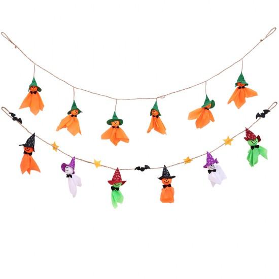 萬聖節必備晴天娃娃拉旗 派對布置裝飾用品