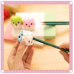 創意可愛貓頭鷹造型削筆器 萌萌削鉛筆器 捲筆刀