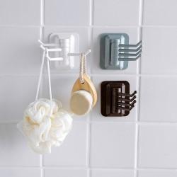 浴室無痕強力旋轉掛勾 毛巾掛架 牆壁置物架