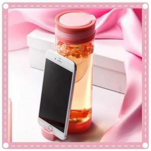 創意手機支架隨手杯 戶外必備水壺手機架 塑膠水杯 杯子