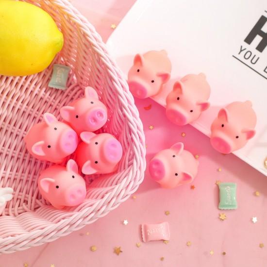 超可愛粉色小豬紓壓捏捏玩具 發洩玩具 超萌小物