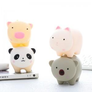 超可愛動物造型存錢筒 創意禮物存錢罐 兒童禮物