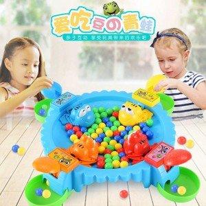 創意小青蛙吃豆豆遊戲 愛吃豆豆的青蛙 親子桌面遊戲 桌遊