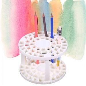 49孔多功能筆架 兒童美術繪畫用品 筆刷收納架 畫筆收納工具