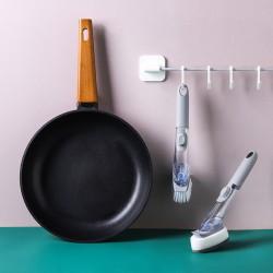 刷鍋神器 替換式刷頭洗碗刷 洗鍋刷 可填充洗碗精