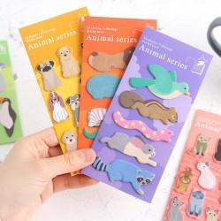 動物系列便利貼 創意可愛小動物N次貼 留言貼