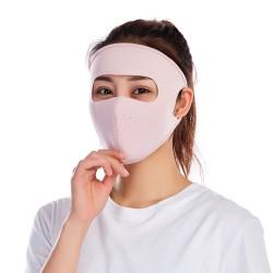冰絲全臉防曬透氣口罩 機車族必備面罩 戶外防風防塵口罩