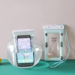 小清新氣囊手機防水袋 夏日玩水必備手機防水袋