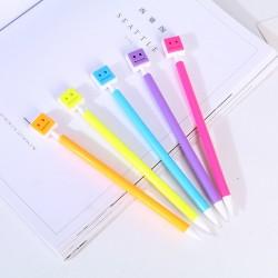 亮色機器人自動鉛筆 0.5mm 學生糖果色自動筆