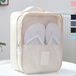 牛津布鞋子收納袋 旅行必備斜紋球鞋收納包 外出鞋袋
