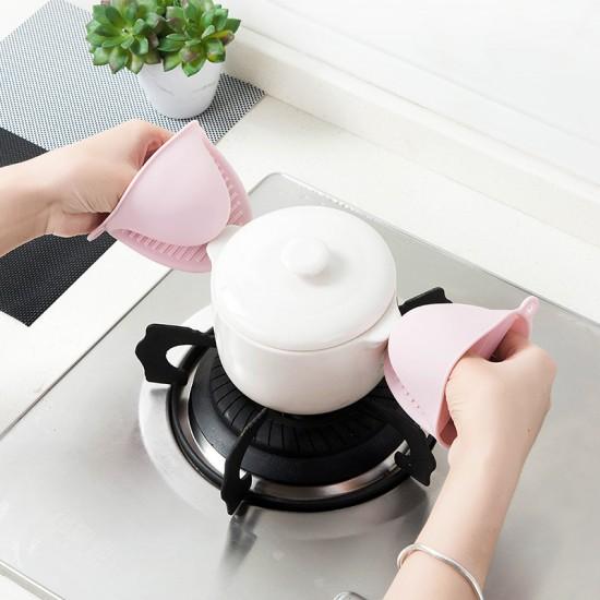 矽膠加厚微波爐隔熱手套 廚房必備烤箱防燙夾 耐高溫手套