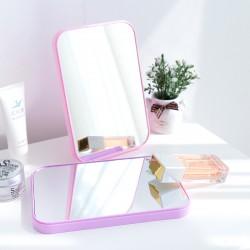 摺疊大號方形公主鏡 方便攜帶化妝鏡 單面摺疊化妝鏡 梳妝鏡 鏡子