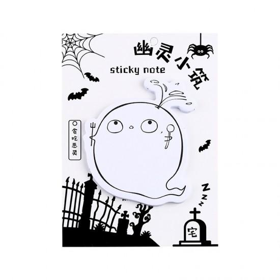 幽靈系列便利貼 創意可愛幽靈N次貼 貪吃幽靈便利貼 留言記事N次貼